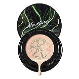 Air Cushion Foundation BB Cream Corrector Maquillaje Funda duradera Hidratante Compacto Natural Cara completa Hidratante Ilumina Corrector Cosméticos para mujeres