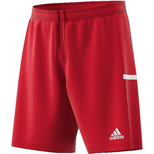 adidas Team 19, Shorts Uomo, Power Red/White, M