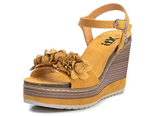 XTI Sandalia XTI049715 para Mujer Amarillo 40