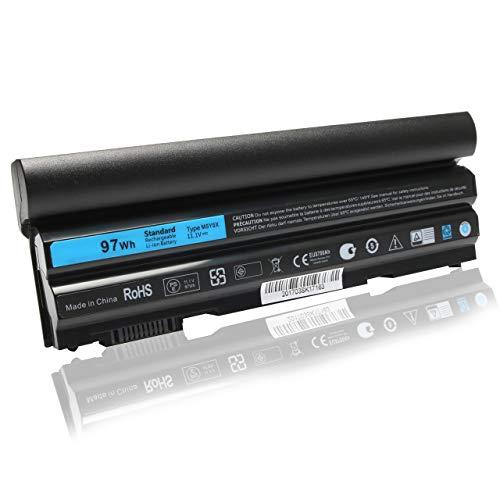 97Wh T54FJ New Laptop Battery for Dell Latitude E6420 E6430 E6440 E6540 E5530 E5520 E5420 E5430,Compatible P/N:312-1163 312-1242 M5Y0X HCJWT KJ321 NHXVW PRRRF T54F3 T54FJ X57F1