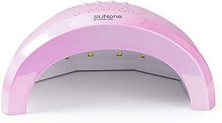SHJMANPA Lámpara de uñas Profesional para esmaltes permanentes y semipermanentes. Lámpara LED. Secador de uñas con Temporizador y Sensor de Movimiento para manicura Gel, Pink