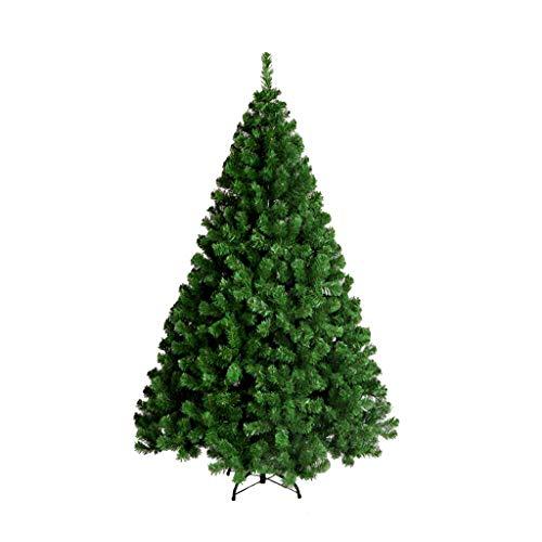 Arbre de Noël 1.2m petit arbre artificiel vert Nouvel An décorations de vacances renforcé support en métal intérieur scène extérieure décoration