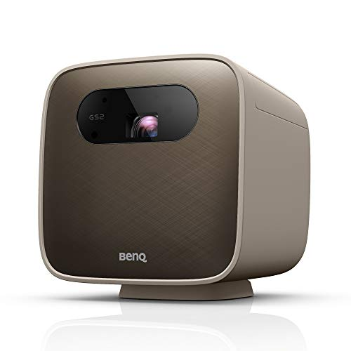 BenQ Mini LED Beamer GS2 mit Bluetooth-Lautsprecher, WLAN, HDMI, USB-C, Outdoor-geeignet