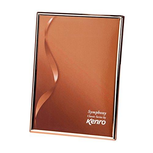 Kenro SYC1318-Marco de Fotos (Metal, 13 x 18 cm), Color Dorado, Oro Rosa, 7x5
