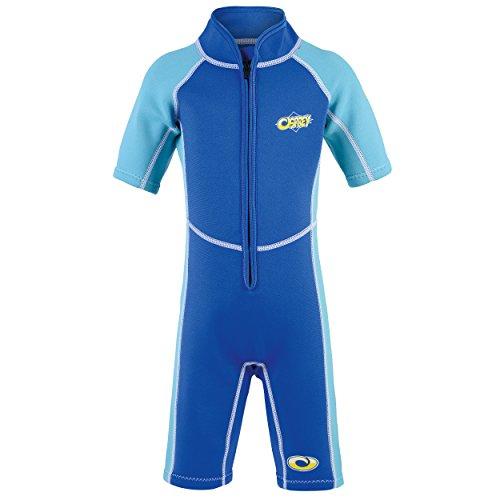 Osprey Neoprenanzug für Kleinkinder, 3 mm stark, Lichtschutzfaktor 50 erhältlich, Jungen, WS0191, Octopus - Blue, Alter 2