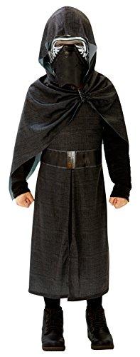 Star Wars - Disfraz de Kylo Ren Deluxe para niños, L 7-8 años (Rubie\'s 620261-L)