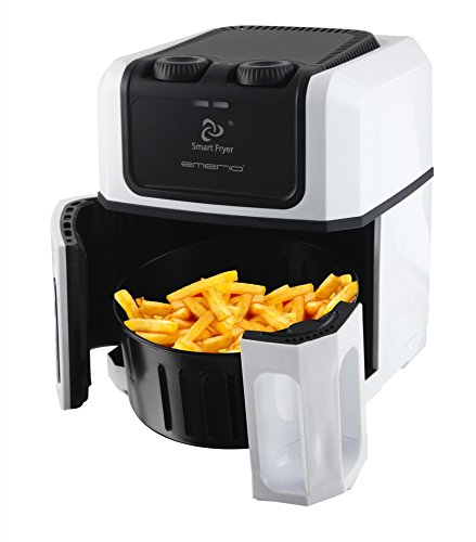 Smart Fryer friteuse 2,5 liter wit-zwart
