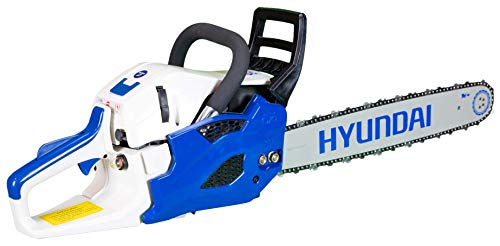 Hyundai 2-Stroke 56 cc Petrol Chainsaw with 20 inch (50 cm) Oregon Bar HYC5620