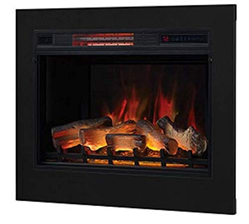 Classic Flame 28-in 3D SpectraFire Plus Infrared Electric Insert & Trim Kit - 28II042FGL & BBKIT-28