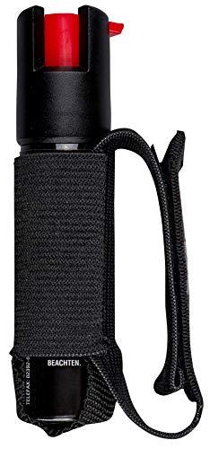 SabreRed Tierabwehr-Spray als Gel (Pfefferspray Gel) für Sportler mit Verstellbarer Handschlaufe - Maximale Wirkung in Behördenstärke, 35 Sprühstöße mit bis zu 4m Reichweite Gel ist sicherer