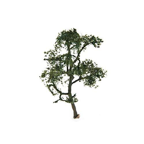 Asien 3,54 Inch (9cm) Landschaft Landschaftsmodell der Platane-Baum-Landschaft Produkte Sand Tabelle Modell-Struktur