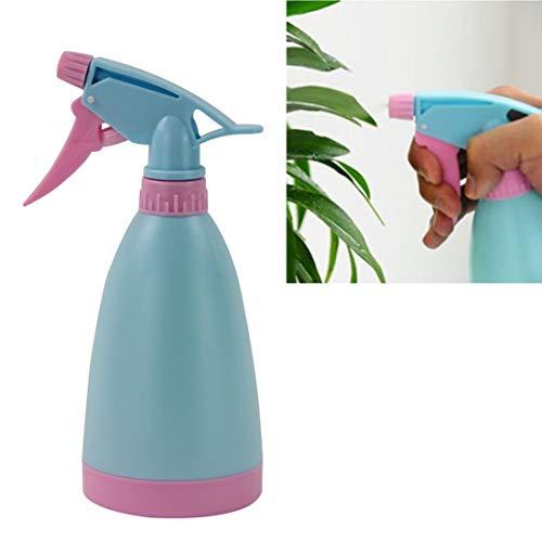 Luoshan Piccoli annaffiatoi Strumenti for l'irrigazione Semina Bomboletta Spray Bombola for versare la Pressione della Mano con ugello Regolabile, Consegna Casuale dei Colori, capacità: 400 ml