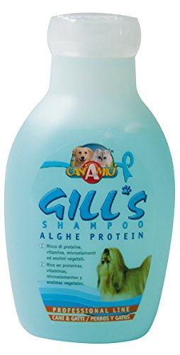 Croci Gill's Shampooing Enrichi aux Protéines d'Algues pour Chien 230 ML