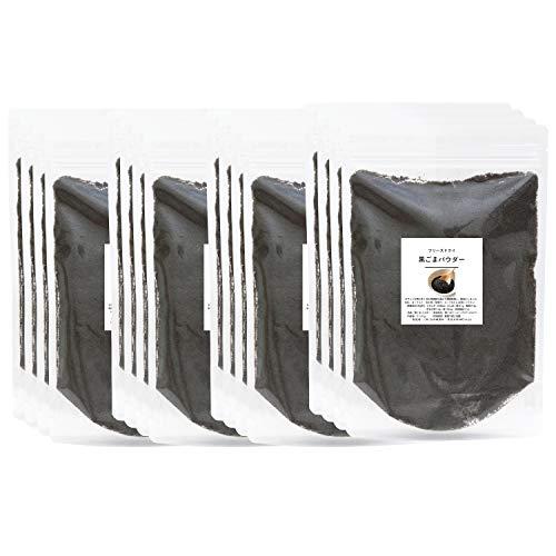自然健康社 黒ごまパウダー 1kg×4個(250g×16袋) チャック付袋入り