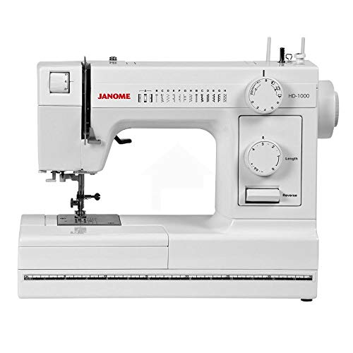 Janome HD1000 Mechanical Sewing Machine (Renewed)