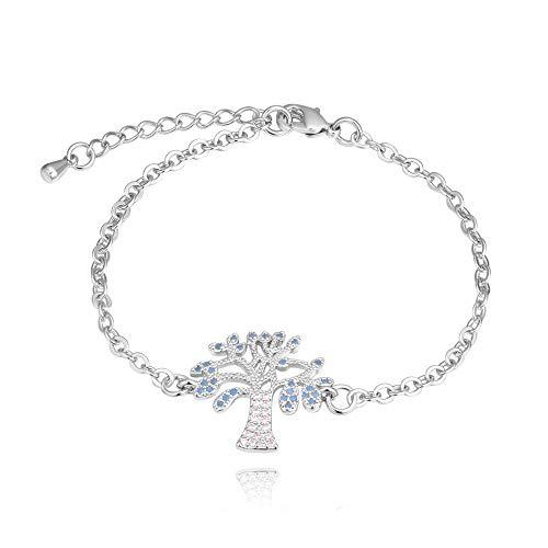 Armband Armbanden Link Armbanden Kristal Sieraden Nieuwe Sieraden Mode Goud vergulde Micro Zirkoon Boom Armband@B