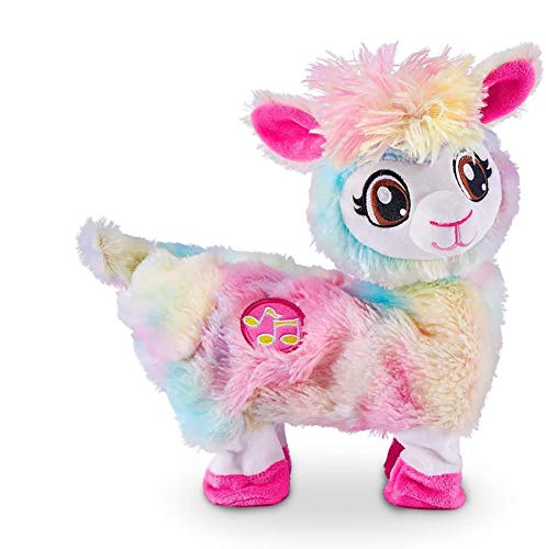 Pets Alive Rainbow Bonnie The Booty Shakin Llama Battery-Powered Dancing Robotic...