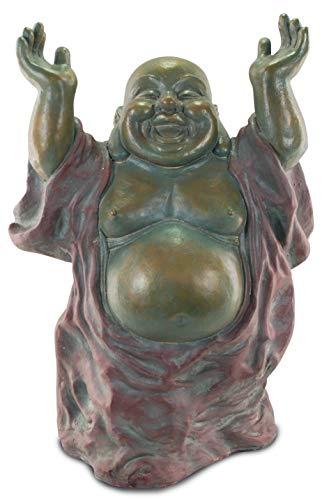 Signes Grimalt - Figura decorativa de Buda feliz figura de Metal 82 cm 68486SG