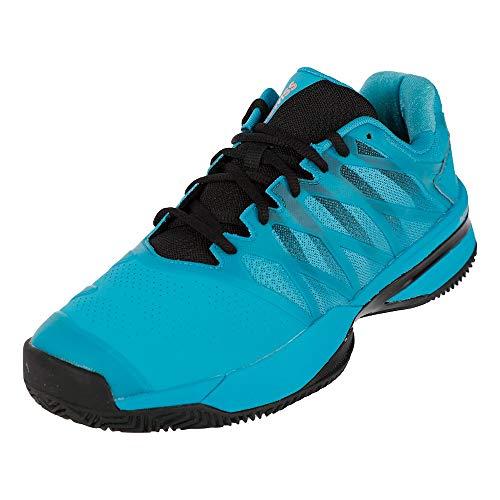 Dunlop Herren Ultrashot 2 HB Sneaker, Algiers Blue/Black/Soft Neon Orange, 44.5 EU