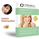 JISHAKU Magnet-Anwendung, EINFACH NICHTRAUCHER Original asiatische Stimulation mit Magneten, FREEGIFT Finger-Massage-Ring, Nikotinfrei, Rauchen aufhören,...