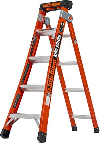 Little Giant Ladder Systems 13480V-001 Little Giant King Kombo, Orange