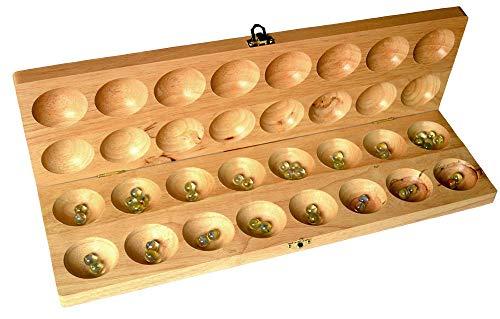 Hus Bao Bao Big, Steinchenspiel, Hus oder Bao Bao Brettspiel Large Strategiespiel EIN Holzspiel von Knobelholz für Kinder gut geeignet um die Feinmotorik zu schulen sowie Konzentration