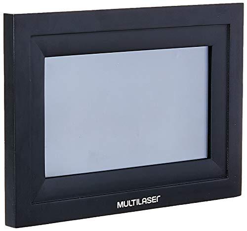 Porta Retrato Digital com Wi-Fi LCD 7 Pol. Touch Entradas USB + Cartão SD Preto Multilaser - SP303