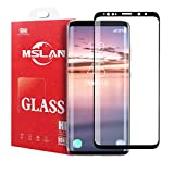 MSLAN Galaxy S9 Plus Screen Protector, Full Coverage HD Clear 3D Tempered Glass,[Easy Installation][High Definition][Anti-Scratch][9H Hardness] Screen Protector Compatible Samsung Galaxy S9 Plus