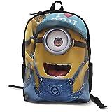 Despicable-Me - Mochila para estudiantes, mochila de viaje para ordenador portátil
