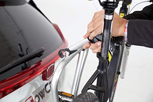 Yakima Fahrradträger Justclick 3 für 3 Fahrräder Silber/Schwarz