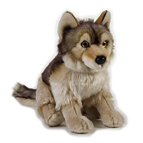 National Geographic Wolf Plush - Medium Size