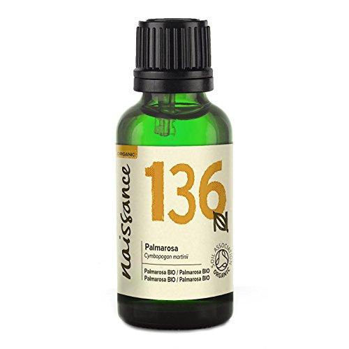 Naissance Palmarosa (Nr. 136) 30ml BIO zertifiziert 100% naturreines ätherisches Öl
