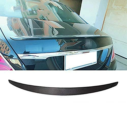 XXIAOHH Alerón De Maleta De Material Frp De Fibra De Carbono Apto para Benz S300 S320 S400 Change 2014 Top, Tiras De Alerón De Labios De ala De Ladrón De Coche (Color, Frp), Frp