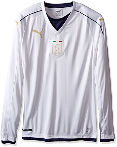 PUMA FIGC Italia Tribute Away LS – Camiseta para Hombre, Tribute Away – Camiseta de Manga Larga, Blanco,…