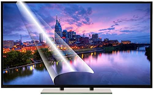 SXDYJ Protector Anti de Pantalla de luz Azul for TV 55 Pulgada televisor Película Protectora Mate de película de Filtro Anti-deslumbramiento for 50-75 Pulgadas televisor Monitor Anti-reflexión
