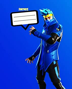 Fortnite Composition Notebook  7.5x9.25 220 Pages Wide-Ruled Notebook For kids teens and adults Video Game For School For Work ,Journal fort .. Book Wide Rule for school or work.