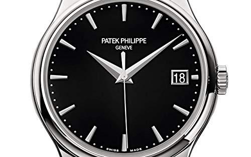 Patek Philippe Calatrava White Gold 5227G-010 with Black Lacquereddial