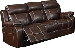 Myleene Motion Sofa with Pillow Arms Chesnut