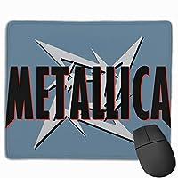 マウスパッド コンピュータマウスパッド Metallica ゲーミングマウスパッド マウスマット おしゃれ 滑り止め デザイン 可愛い ラバーマット 厚くした 防水 男女兼用