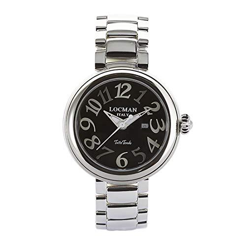 Locman Italy - Reloj de mujer Tutto Tondo 31 mm negro Ref. 0361