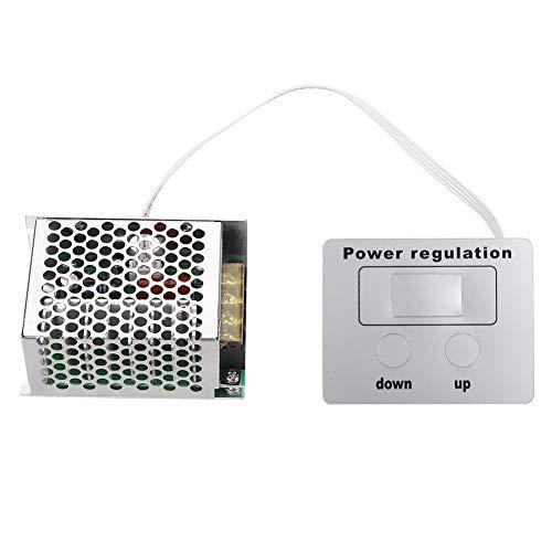 40000W SCR Regolatore di Tensione Digitale Regolatore di Velocità del Pannello del Modulo Dimmer Termostato AC 220V per l'acqua Riscaldatore Piccoli Motori [Classe di efficienza energetica A]