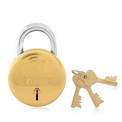 Godrej Nav-Tal 7 Levers 4 Keys Padlock