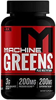 Machine Greens + Multi Capsules 180ct. - Full Servings of Fruits of Vegetables with Vitamins