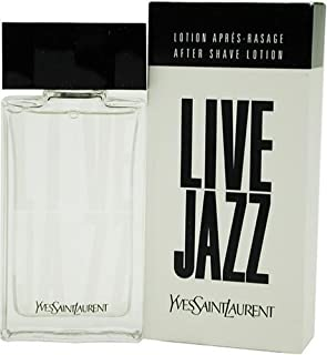 Live Jazz By Yves Saint Laurent For Men. Aftershave 1.6 Ounces