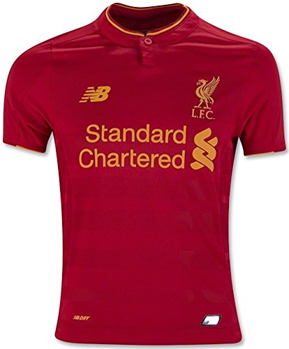 New Balance Kids Liverpool Home Soccer Jersey 2016/2017 (Youth Large) Red
