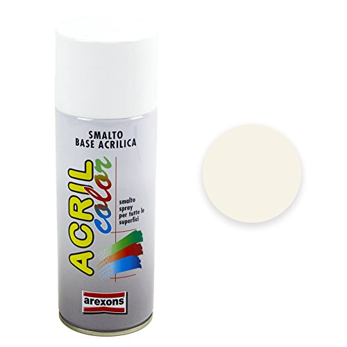 Arexons RXS006 3932 Acrilcolor RAL 1013, Bianco Perla, 400 ml