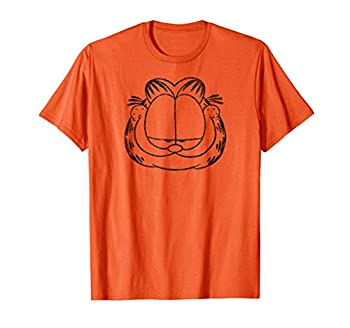 Garfield Smirking Distressed T Shirt