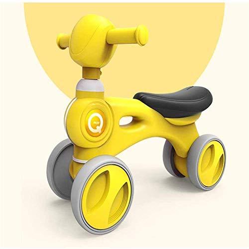 Zixin Los niños de la Bicicleta, Andador, Equilibrio del niño Scooter, antivuelco Walker Plegable for niños y niñas de 6-24 Meses de bebé del niño