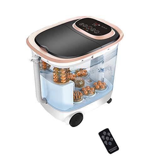 Ocye massageapparaat voor voeten, spa-/badkamer met verwarming, drainage, waterdichte voetmassage, wielen ter vermindering van de voetdruk