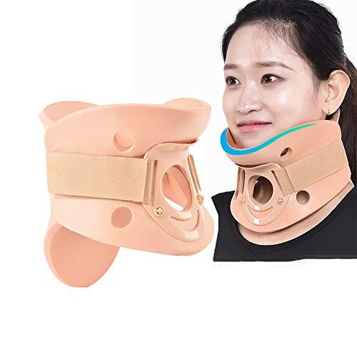 GOHHK Cervical Neck Traction Device for Adult, Adjustable Neck Brace Stretcher Collar Support for Posture Corrector Spine Alignment